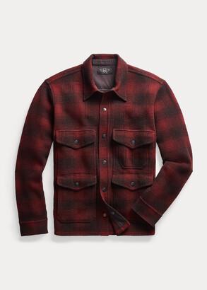 Ralph Lauren Plaid Wool Workshirt Sweater
