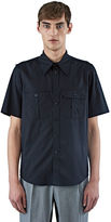 Yang Li Men's Boy Scout Shirt In Black