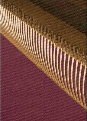 East Urban Home Wool Orange/Pink Area Rug Rug Size: Runner 2' x 5'