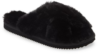 MICHAEL Michael Kors Lala Faux Fur Slide Slipper