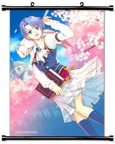Legend of Heroes Anime Game Fabric Wall Scroll Poster (16x23) Inches