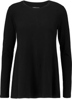 Majestic Stretch-cotton and cashmere-blend jersey top