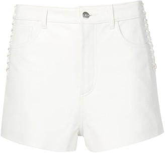 IRO lace-up side shorts