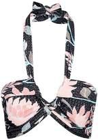 Seafolly Bali Hai Halterneck Bandeau Bikini Top