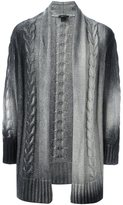 Avant Toi long cable-knit cardigan