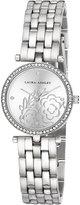 Laura Ashley Women's Quartz Metal and Alloy Casual Watch, Color:-Toned (Model: LA31021SS)