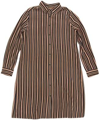 Uniqlo Multicolour Silk Dress for Women