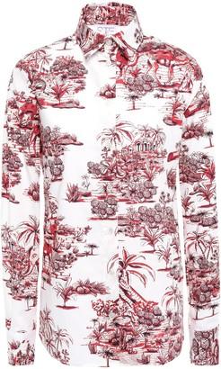 Stella Jean Printed Cotton-poplin Shirt
