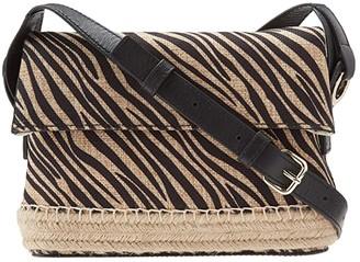 Vince Camuto Elsy Crossbody (Zebra) Cross Body Handbags