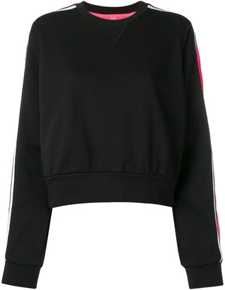 NO KA 'OI Stripe Sleeve Sweatshirt