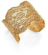 Aurelie Bidermann Vintage Lace Cuff Bracelet