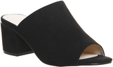Office Madness Block Heel Mule Sandals