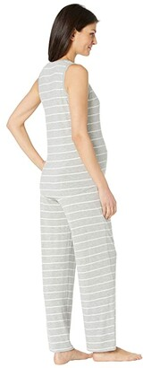 Everly Grey Joy Maternity/Nursing Two-Piece PJ Set