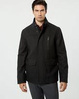Le Château Wool Blend Mailman Jacket