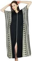 Bimba Women Rayon Long Kaftan Caftan Maxi Gown Coverup Top