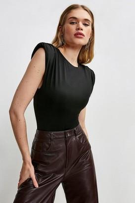 Karen Millen Jersey Shoulder Pad Body