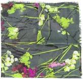 Blumarine Foulard floral print scarf