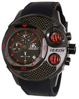 Adee Kaye Men's AK8002-MIPB/RED Commando Sports Chronograph Watch