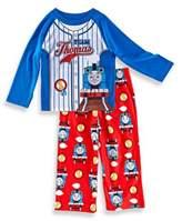 "Thomas & Friends Size 24M 2-Piece ""Team Thomas"" Pajama Set in Red/Blue"