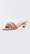 Kate Spade Penrose Gold Ball Heel City Sandals