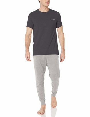 Calvin Klein Men's Short Sleeve T-Shirt and Lounge Pant Set