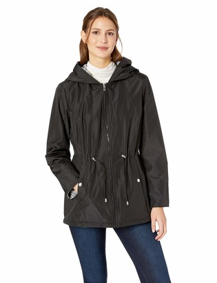 Details Women's Reversible Lightweight Down Thigh-Length Jacket