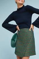 Eva Franco Tweed Wrap Skirt