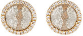 Monique Péan Women's Grey Diamond Circular Stud Earrings