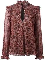 Giambattista Valli printed blouse