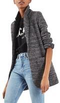 Topshop Women's Boucle Longline Blazer