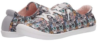 BOBS from SKECHERS Beach Bingo - Pastel Paws (Gray/Multi) Women's Shoes