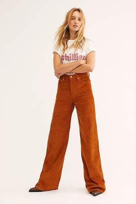 Levi's Ribcage Cord Wide-Leg Pants at Free People