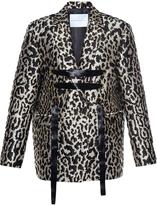 Francesco Scognamiglio Animal Print Jacquard Jacket