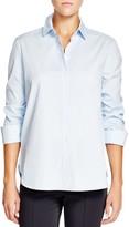 Basler Ruched Three-Quarter Sleeve Shirt