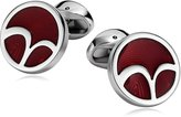 AmDxD Jewelry Stainless Steel Cufflinks for Men Zodiac Signs Cuff Links
