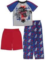 "Star Wars Lego Big Boys' ""Lego Kylo Ren"" 3-Piece Pajamas"
