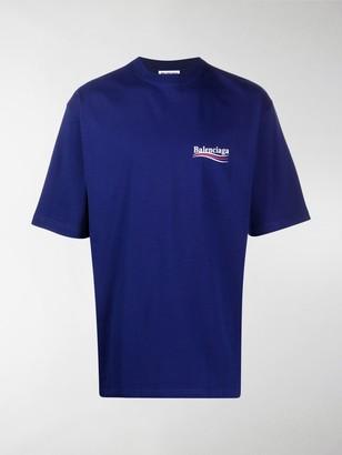 Balenciaga logo print cotton T-shirt