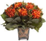 Bougainvillea 13In Plumosum & Hydrangea Arrangement