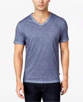 Michael Kors Micheal Kors Men's V-Neck Melange Cotton T-Shirt, Only at Macy's