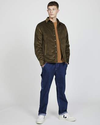 Coach Lois Jeans - Quilted Jacket in Cord Khaki