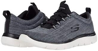 Skechers Summits Louvin (Black/White) Men's Shoes