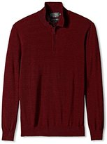 Pendleton Men's Long Sleeve Merino 1/4 Zip
