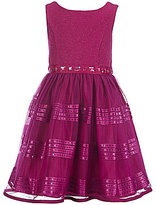 Sweet Heart Rose Little Girls 2T-6X Stone-Embellished Party Dress