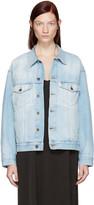 Off-White Blue Denim Over Jacket