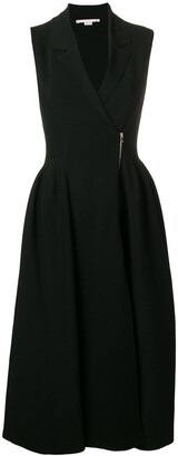 Stella McCartney Godet Gilet dress