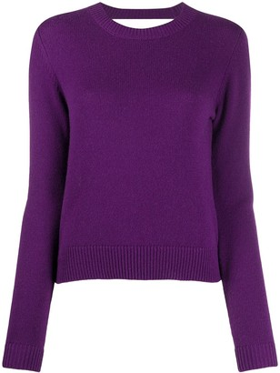 Chinti and Parker Cut-Out Cashmere Jumper