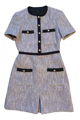 Maje Spring Summer 2020 Grey Tweed Dresses