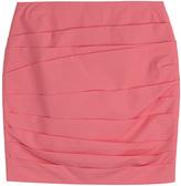 Paule Ka Ruched Cotton Skirt