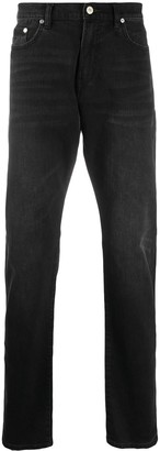 Paul Smith High-Rise Straight Leg Jeans