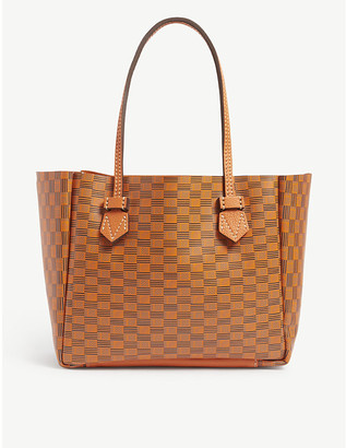 Moreau Paris Vincennes small leather tote